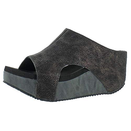 (VOLATILE Women's Bronx Wedge Sandal, Bronze, 8 B US)