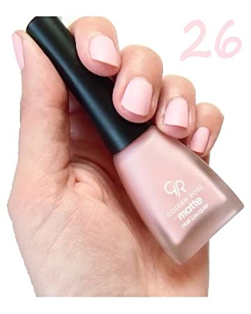 Amazon.com : Golden Rose Matte Nail Polish - 26 Pale Pink : Beauty