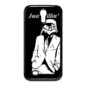 Custom Personalized Vital Design Hard Plastic Case Back Cover Case Star fuss Wars for Samsung Galaxy S4 I9500 or _Black 30303 go