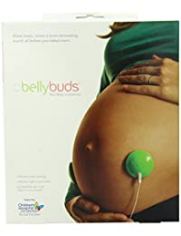 Bellybuds | Baby-Bump Sound System | 1st Generation | Prenatal Pregnant Headphones | Belly Phones That Plays Music And Voices For The Brain Development Of Your Unborn Baby | The Perfect Pregnancy Gift BOBEBE Online Baby Store From New York to Miami and Los Angeles