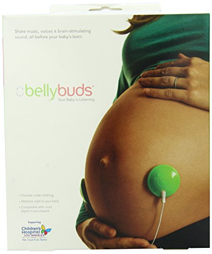 Bellybuds | Baby-Bump Sound System | 1st Generation | Prenatal Pregnant Headphones | Belly Phones That Plays Music And Voices For The Brain Development Of Your Unborn Baby | The Perfect Pregnancy Gift