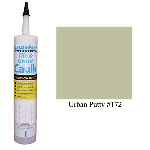 Color Fast Caulk Matched to Custom Building Products (Urban Putty Sanded)