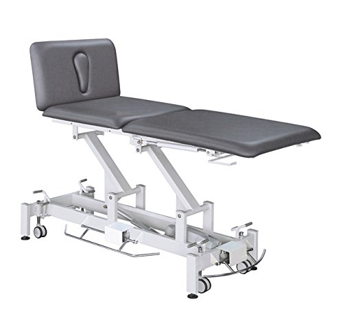 EFA 3-Section Electric Hi-Lo Table Gray