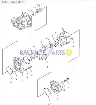 bobcat 863 hydraulic pump diagram amazon com for komatsu wheel loader wa600 3 wa600 3d wd600 1  for komatsu wheel loader wa600 3 wa600