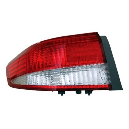 (Go-Parts ª OE Replacement for 2003-2004 Honda Accord Rear Tail Light Lamp Assembly/Lens/Cover - Left (Driver) Side - (4 Door; Sedan) 33551-SDA-A01 HO2800148 for Honda Accord)