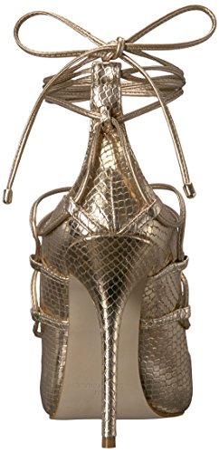 Steve Madden Women's Roxie Dress Sandal Gold Snake new arrival sale online cheap exclusive clearance largest supplier store cheap online YIFYd