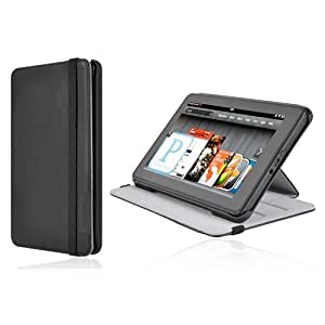 Incipio Kickstand Lightweight Case Cover with Stand for Kindle Fire, Black (will not fit HD or HDX models)