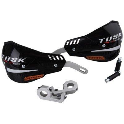 Tusk D-Flex Pro MX Handguards with Turn Signals - BLACK (1-1/8' Bars)
