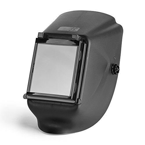 TR Industrial 88024 Shade 11, ANSI Z87.1 MIG/TIG Flip-Up Welding Helmet with Large View-Area
