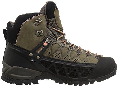 Chaussures De 2719 Gtx Alp Flow Femme Salewa Ws Mid Peach Marron Coral Hautes walnut Randonnée xqYwXH