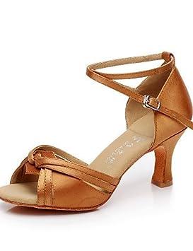 OrNon De Shangyi Argent Chaussures DanseMarron WoerxBdC