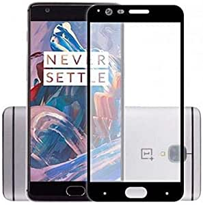 Curved Tempered Glass Screen Protector for OnePlus 3 OnePlus 3T Black SAPU