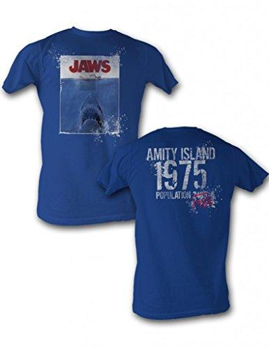 American Classics Jaws Jaw 1975 Adult T-Shirt Tee 4X