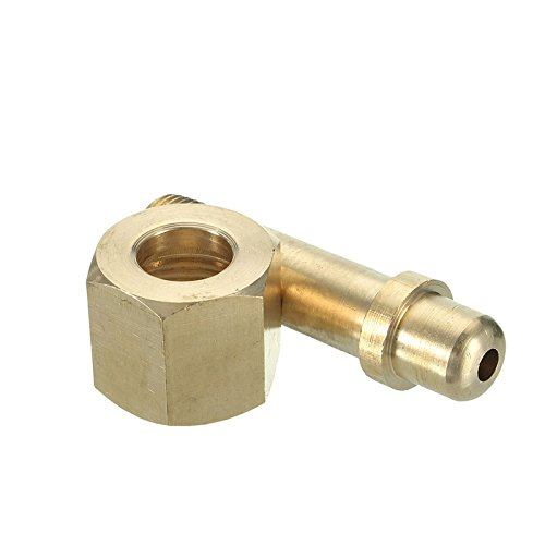 LILACORP CGA-540 Nut 3 Inch Nipple Regulator Inlet Bottle/ Cylinder Fittings Oxygen Top Quality