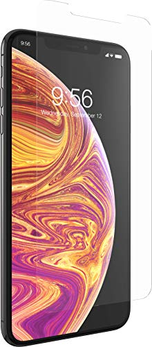 ZAGG InvisibleShield Glass+ Screen Protector – High-Definition Tempered Glass for Apple iPhone Xs MAX – Impact & Scratch Protection