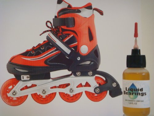 THE BEST 100%-synthetic Oil for K2 inline skates, SUPERIOR lubrication and rust prevention for wheels!