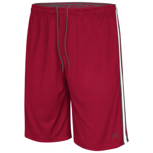 Colosseum Athletic Basketball Shorts (Cardinal) - XL from Colosseum