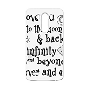 SANLSI I Love You To The Moon And Back Cell Phone Case for LG G3