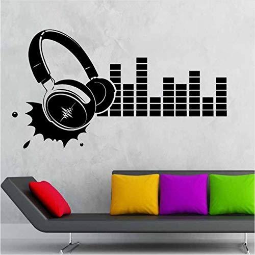 (hwhz 34X60 Cmk Music Band Decal Rock Wall Stickers Name Decals Pub Ktv Poster Home Decor Car Sticker)