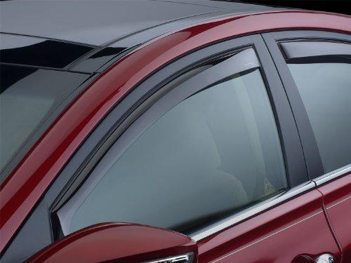 WeatherTech Custom Fit Front Side Window Deflectors for Chevrolet Blazer (2 door), Dark Smoke