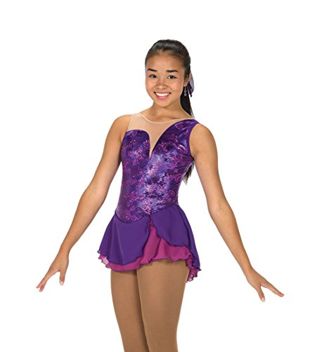 Jerry's Figure Skating Dress 252 - Aurellia Purple Hyacinth (AS) by Jerry's Skating World