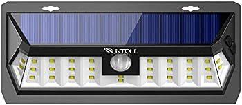 SUNTOLL Solar Lights Outdoor Super Bright White Motion Sensor Light