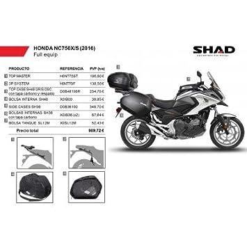 SHAD - KIT-SHAD-15/214 : Maletas laterales, baul, bolsa