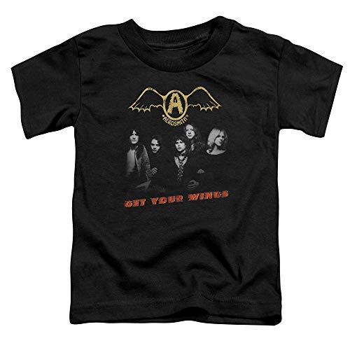 Bas Obtiennent Black Enfants T Aerosmith En Âge Vos Ailes Les shirt HUtWqT1pO