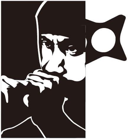 Amazon.com: Taza Ninja y Throwing Daga Silueta (Japón ...