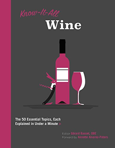 Know It All Wine: The 50 Essential Topics, Each Explained in Under a Minute (Red Rioja Tempranillo Wine)