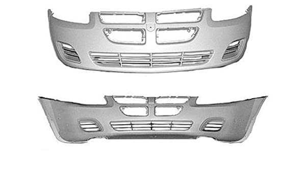 New Painted to Match Front Bumper Cover for 2004-2006 Dodge Stratus Sedan
