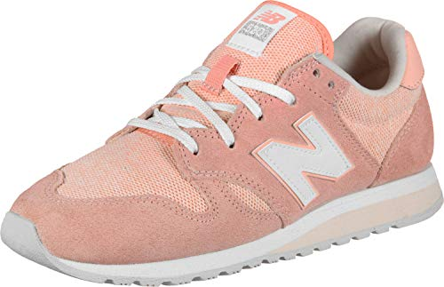 white Mist Tlc Blanc New Femme Balance Peach pink 520 Baskets wx4AXq