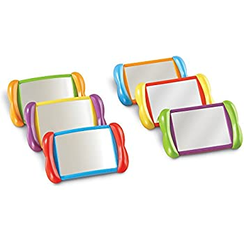 Amazon.com: Learning Resources All About Me Mirror Boards ...
