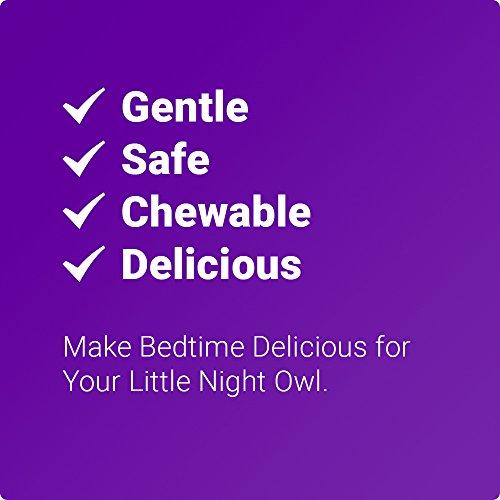 LUNA Kids (60 Tabs) – #1 Natural Sleep Aid for Children 4+ and Sensitive Adults – Herbal, Gentle & Safe Sleeping Pill (Made with Melatonin, Valerian, Chamomile, Lemon Balm & More) – Lifetime Guarantee