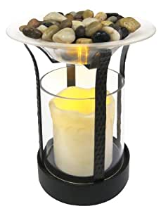 Amazon.com: Homedics ARM-CAN1 AromaSpa Flameless Candle