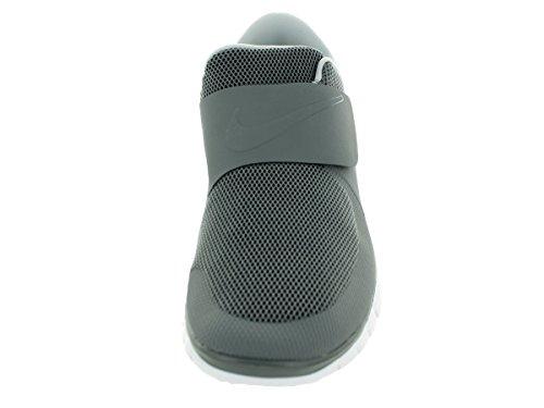 Nike Free Socfly Laufschuhe Sneaker grau/weiß
