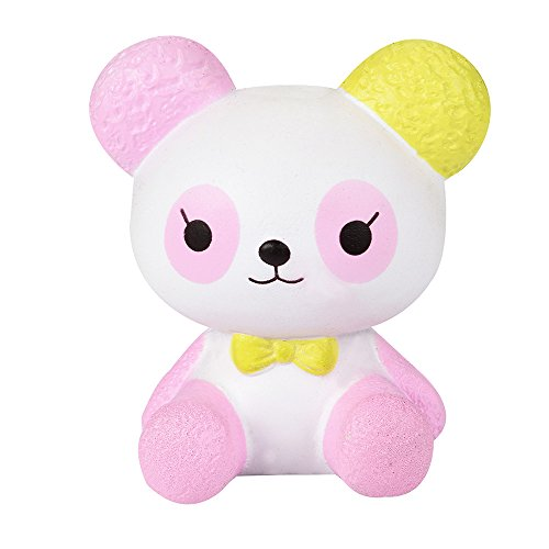 8a586140f90 Homeparty Squishies Cartoon Panda Scented Slow Rising Squeeze Toys  Collection Charm