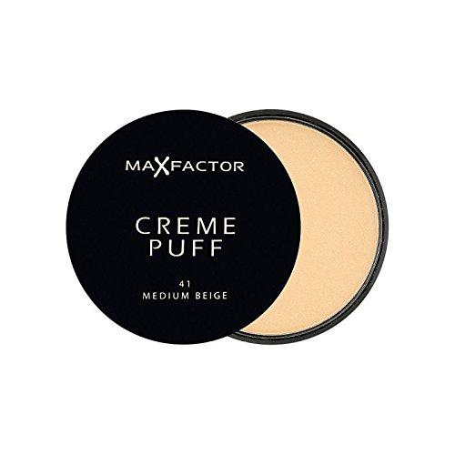 Max Factor Creme Puff Powder Compact Medium Beige 41 (Pack of 6) - マックスファクタークリームパフ粉末コンパクト媒体ベージュ41 x6 [並行輸入品] B0716DGN1G