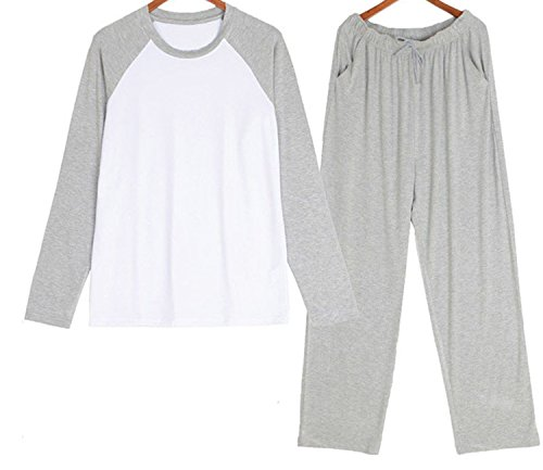 Beancan Modal Material Mans Sets Mens Sleepwear Men Set De Hombre 1135 at Amazon Mens Clothing store: