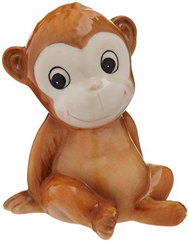 (Cosmos Monkey Ceramic Piggy Bank, 5 Inches High 5