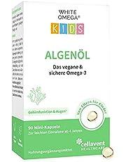 Nieuwe introductie – algenolie capsules voor kinderen – veganistische omega-3 – zonder carrageen – 330 mg DHA uit algen – 90 mini-capsules