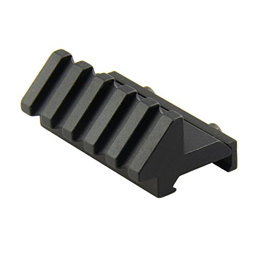 PROSUPPLIES BRAND NEW DESIGN Tactical 45 Degree Angle Offset 20mm Weaver Rail Mount Picatinny 5 - Laser Set Mount