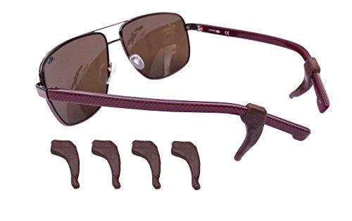 Lot Medipaq® Brown Pack supports crochets d'oreilles pour antidérapants 6 lunettes 6x de d4xq41