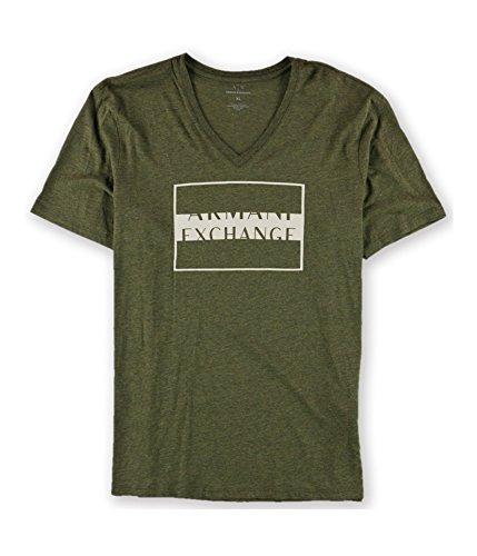 GIORGIO ARMANI Armani Mens Logo Graphic T-Shirt 3800 - Armani Logo Giorgio