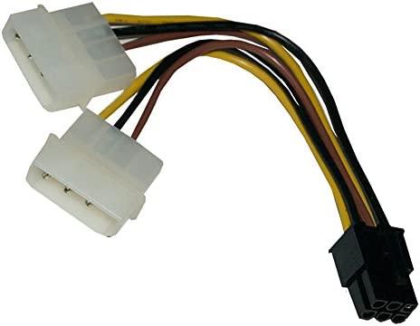 Yivise ATX IDE Molex Power Cable Adaptador de Tarjeta de ...