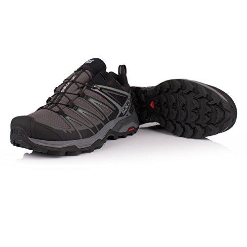 de Velcro Ultra Hombre para Zapatilla 3 GTX Salomon Negro X RXwnxBv