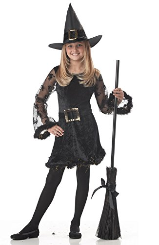 California Costumes Adorable Witch Child Costume-