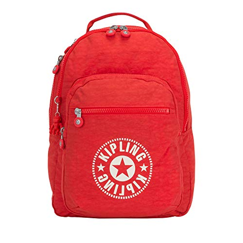 Kipling Clas Seoul Large Laptop Backpack Active Red Nc