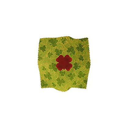 Shamrock Shaped Rocking Rosin - Upright Bass Rosin Pack with Premium Upright Bass Cleaning Cloth