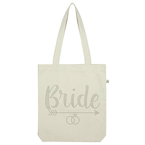 White Twisted Tote Bride Twisted Bride Tote Arrow Envy Rhinestone Arrow Bag Envy Bag Rhinestone White Rq61xB